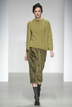 Margaret Howell RTW Fall 2014 - Slideshow - Runway, Fashion Week, Fashion Shows, Reviews and Fashion Images - WWD.com -- Socks and sandals? Why?