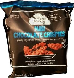 Marks & Spencer Guilt Free Snacking - Mini Chocolate Crispies