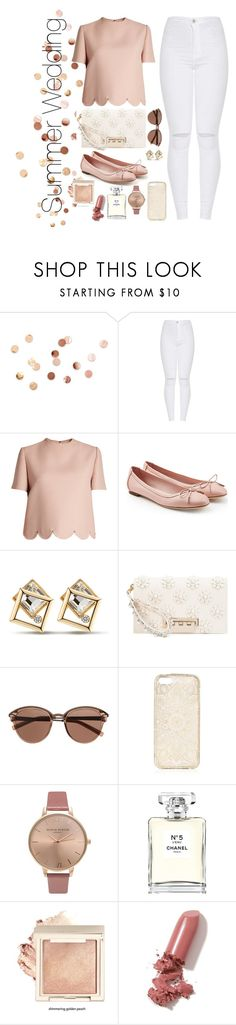 """Untitled #7"" by maddierose404-1 ❤ liked on Polyvore featuring Umbra, Valentino, Salvatore Ferragamo, ZAC Zac Posen, Witchery, Olivia Burton, Chanel and LAQA & Co."