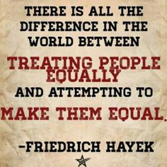 90 Miles From Tyranny : All The Difference In The World - Hayek