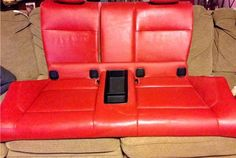 2008-2011 BMW E82 1Series Red Back Seat