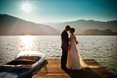 Anne und Georg   sonnige Hochzeit am Tegernsee