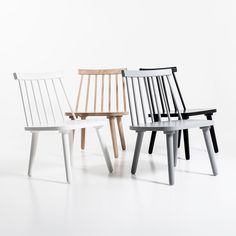 Wood H19 Loungestol, Grå 990 kr. - RoyalDesign.se