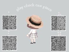 Honna @ Mori (sleep for a while) (@ Animal Crossing Memes, Animal Crossing Qr Codes Clothes, Animal Games, My Animal, Motif Acnl, Kawaii, Ac New Leaf, Motifs Animal, Happy Home Designer