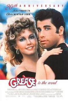 Films with fashion influence - 1978 Grease poster