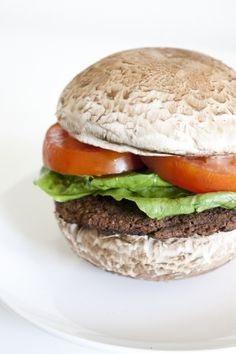 Easy, 100% natural, no-filler, homemade Black Bean Burger -- can't beat that! Serve this on half a bun for the FMD.