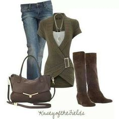 Earthy outfit