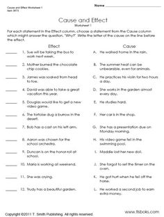 Print Free Fourth Grade Worksheets for Home or School Reading Comprehension Worksheets, Reading Strategies, Reading Skills, Teaching Reading, Learning, 6th Grade Ela, Third Grade Reading, Fourth Grade, Cause And Effect Worksheets