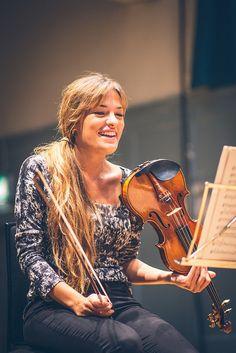 Nicola Benedetti and friends - rehearsal eif.co.uk/benedetti © Clark James