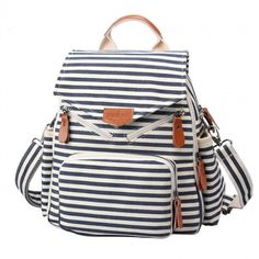 I am so happy to find the  Novelty Striped Canvas New Multifunction Bag Backpack Handbag Shoulderbag  from ByGoods.com. I like it <3!Do you like it,too?