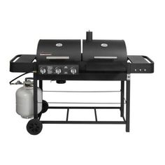 Brinkmann Dual Function II Propane Gas and Charcoal Grill-810-3800-SB at The Home Depot
