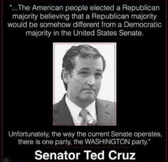 The American People Elected A Republican Majority Believing A Majority Would Be…