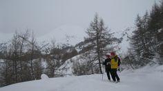 Osservazione del territorio (foto di M.Canziani) durante uno dei transetti condotti dall'Associazione con il supporto delle GEV del Parco (www.uomoeterritoriopronatura.it).