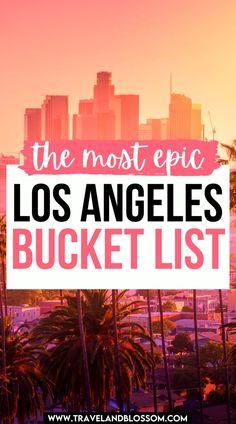 Visit California, California Travel, Los Angeles Travel Guide, Visit Los Angeles, Worldwide Travel, Summer Bucket Lists, United States Travel, Travel Usa, Trip Planning