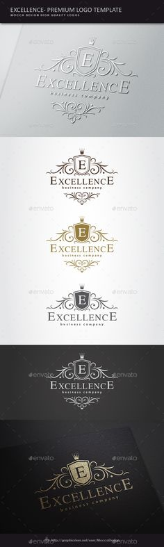 Excellence is a clean and professional logo template suitable for any kind of…