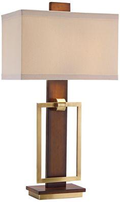John Richard Mixed Media Table Lamp -