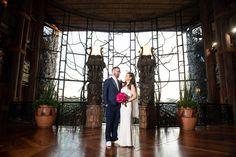 Disney Fairy Tale Wedding portraits inside Disney's Animal Kingdom Lodge