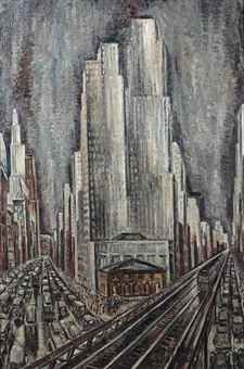 Adriaan Lubbers - Herald Square, Nueva York