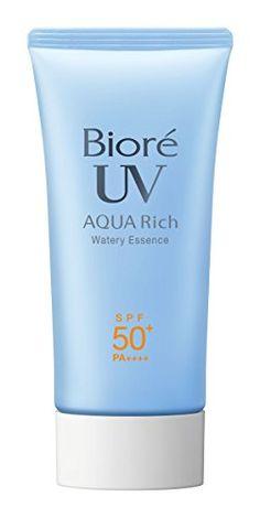 Biore Sarasara Aqua Rich Watery Essence SPF50+/PA++++ 50g...