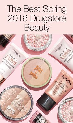 Drugstore makeup for Spring 2018! Click above to see our top picks!