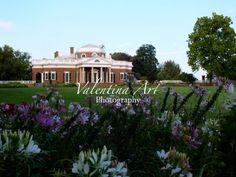 Monticello Virginia Art Color Photography by ValentinaArtSpace