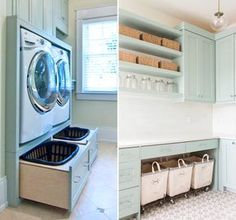 Optimize your small space & learn trick how to organize your dryer sheets, laundry room cabinet & other laundry room essentials Laundry Room Remodel, Laundry Room Cabinets, Laundry Closet, Laundry Room Organization, Laundry In Bathroom, Bathroom Interior, Interior Design Living Room, Living Room Designs, Laundry Business