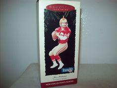Hallmark Joe Montana Legends San Francisco Football Ornament 1st in Series 1995