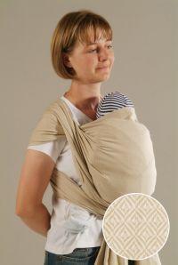 Leo Natural Storchenwiege Wraparound Baby Carrier