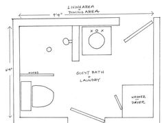small laundry bathroom combo designs | Tiny House Blog , Archive Two Bathroom/Laundry Ideas within the ...