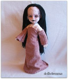 Living Dead Doll Clothes - WILTED Handmade Gown - by dolls4emma