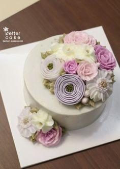 Better-cakes.com.  [베러케익 정규클래스 후기] 남자 수강생분이 만드신 버터크림플라워케이크 - 공덕역 마포역케익/베이킹클래스 : 네이버 블로그