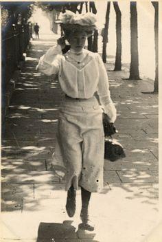 Cromwell Road, South Kensington, London (16 July 1906)