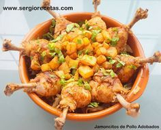 Receta de jamoncitos de pollo adobados/ Paso a paso detallado, notas, trucos y consejos | Cocina