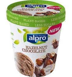Product packaging of Alpro Hazelnut Chocolate ice cream