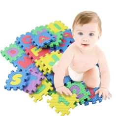 Cheap baby play mat, Buy Quality kids play mat directly from China play mat Suppliers: Baby Play Mats Alphabet Numerals Baby Kids Play Mat Math Educational Puzzles Toy Child Soft Foam Mini Gaming Mats Gift Letters For Kids, Alphabet For Kids, Alphabet Letters, 26 Letters, Toddler Toys, Baby Toys, Kids Toys, Soft Play Mats, Developmental Toys
