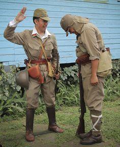 Battle of Bataan reenactment