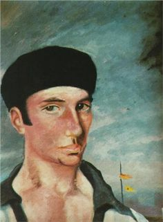 Salvador Dali (1904 - 1989) | Expressionism | Portrait Of Jaume Miravidles - 1922