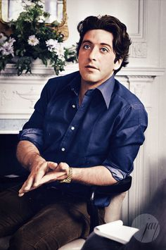 A young and very handsome Al Pacino..... sexy