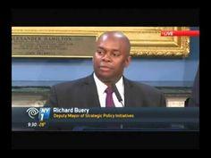 Richard Buery Deputy Mayor NY1 2 4 2014 SHS '88 Stuyvesant High School, Mathematics, Youtube, Math, Youtubers, Youtube Movies
