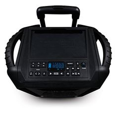 ECOXGEAR GDIEXBM901 Waterproof Portable BluetoothAMFM Wireless 100W Speaker and PA system Black ** Click on the affiliate link Amazon.com on image for additional details.