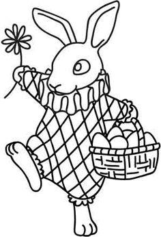 Vintage Easter Bunny design (UTH3148) from UrbanThreads.com