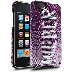 Cellairis by Justin Bieber Amethyest Gradient Case for Apple iPod Touch 2/3