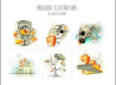 Brochure Illustrations