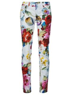 the killer floral pants spotted in today's styling tips story