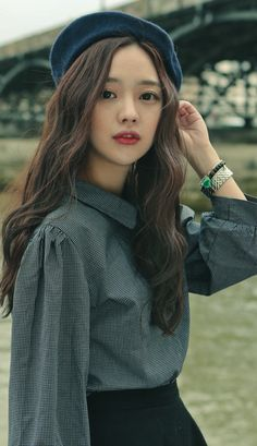 Trendy hair color korean hairstyles asian fashion - New Site Ulzzang Fashion, Asian Fashion, Girl Fashion, Color Fashion, Sport Fashion, Ullzang Girls, Bora Lim, Look Street Style, Asian Hair