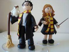 Harry Potter e Hermione topo de bolo