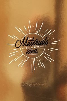 Awesome lettering & calligraphy by Ricardo Gonzalez | From up North