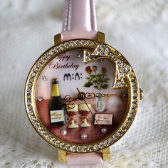MINI hodinky - Šťastné narozeniny Watches, Birthday, Accessories, Birthdays, Wristwatches, Clocks, Dirt Bike Birthday, Jewelry Accessories, Birth Day