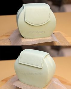 How to make little purse cake