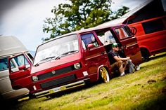 VW T25 Lowered Slammed campervan split screen bay window beetle